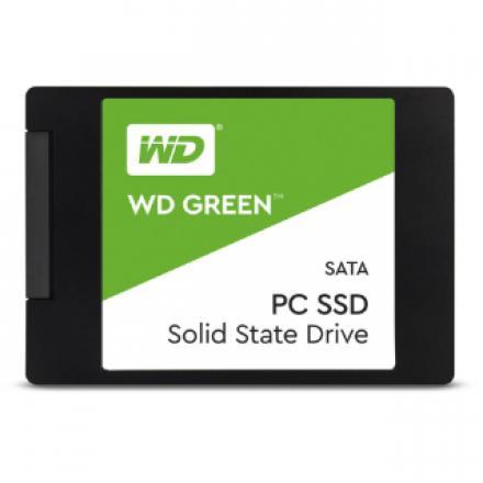 "Ssd Western Digital 480gb Green Sata 2.5"" 3d1-wds480g2g0a 480gb, Sata Iii (6gb/s), 6.35 Cm (2.5"") , Slc, 545 Mb/s, 32.7 G - Imag"