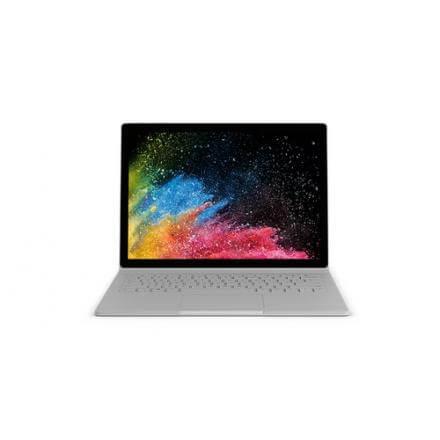 "Microsoft Surface Book 2 HÍbrido (teclado Aleman) (2-en-1) Plata 34,3 Cm (13.5"") 3000 X 2000 Pixeles Pantalla TÁctil 8ª Generaci"