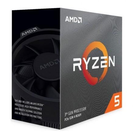Cpu Amd Am4 Ryzen 5 3600 6x3.6ghz/32mb Box  (no Vga) - Imagen 1