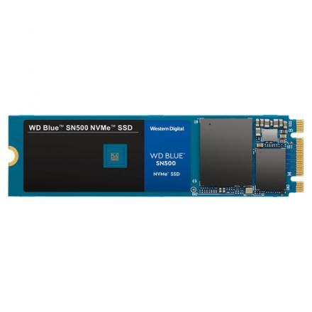 Ssd Western Digital M.2 500gb Blue Sn550 Nvme  3d Nand Western Digital Wd Blue Sn550 Nvme, 500 Gb, M.2, 2400 Mb/s, 8 Gbit/s - Im
