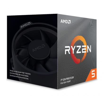 Cpu Amd Am4 Ryzen 5 3600xt 6x4.5ghz/35mb Box Sin Graficos/wraith Spire Cooler 100-100000281box - Imagen 1