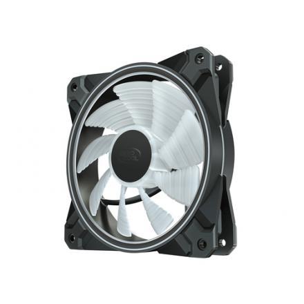 VENTILADOR 120X120 DEEPCOOL CF120 PLUS ARGB PACK 3UDS - Imagen 1