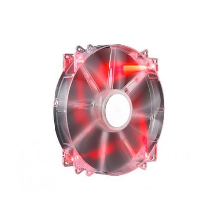 Coolermaster Ventilador Megaflow 200 Led Rojo Silent Fanr4-lus-07ar-gp - Imagen 1
