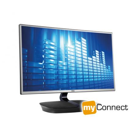 "Monitor Aoc 23.8"" I2473pwy Ips Vga Hdmi Multimedida - Imagen 1"