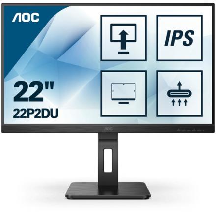 Monitor Aoc  22p2du 1920x1080 Ips Vga Dvi - Imagen 1