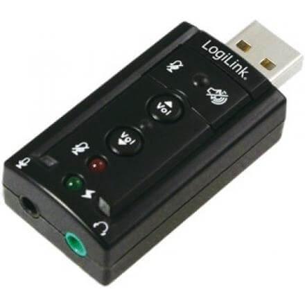 LOGILINK TARJETA DE SONIDO 7.1 USB UA0078 - Imagen 1