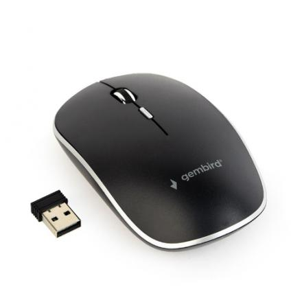 Gembird Raton Wireless 4 Tasten Inkl. Nano Usb Negro - Imagen 1