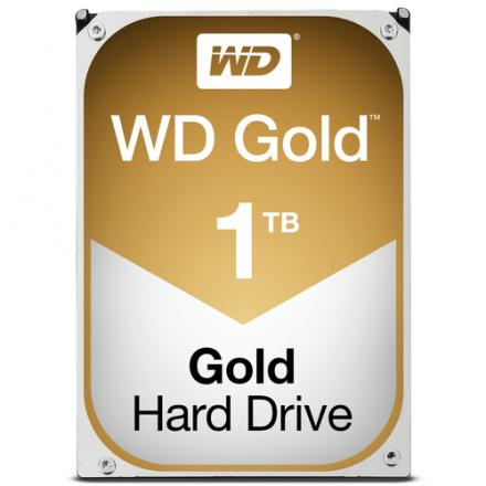 DISCO DURO 3.5  1TB SATA3 WD 128MB DESKTOP GOLD - Imagen 1