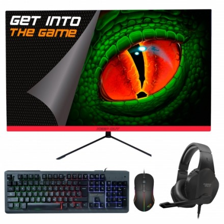 "Pack Keep Out Monitor XGM24V3 60,96cm - 24"" + Auriculares + Teclado + Ratón"