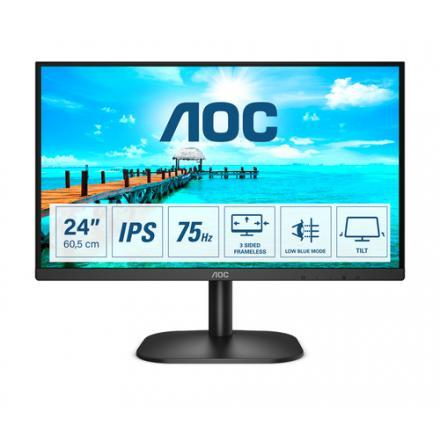 """Monitor Aoc 23,8"""" 24b2xda  16:09 Hdmi Ips Negro - Imagen 1"""