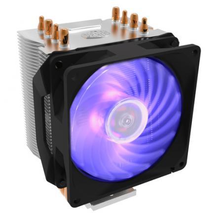VEN CPU COOLERMASTER HYPER H410R RGB COMPATIBILIDAD MULTISO - Imagen 1