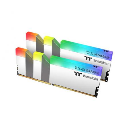 MODULO DDR4 16G 2X8G PC4600 THERMALTAKE TOUGHRAM BLANCO/RGB - Imagen 1