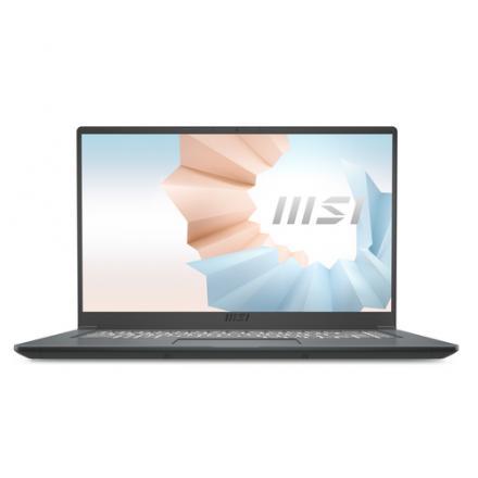 PORTATIL MSI 15 A11SB(MODERN)-011ES GRIS I7-1165G7/16GB/SSD - Imagen 1