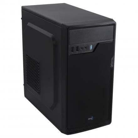 AEROCOOL CAJA PC MICROATX CS100AD USB3.0 SOPORTA VGA DE 325mm BAHIAS 1x5.25 2x3.5 1x2.5 - Imagen 1