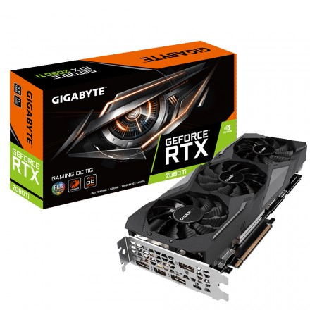 (OFERTA) Gigabyte GeForce RTX 2080 Ti Gaming OC 11GB GDDR6 (Reacondicionada)