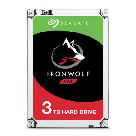 HD 3.5  3TB SATA 3 SEAGATE 64MB IRONWOLF 3.5  / CACHE 64MB - Imagen 1