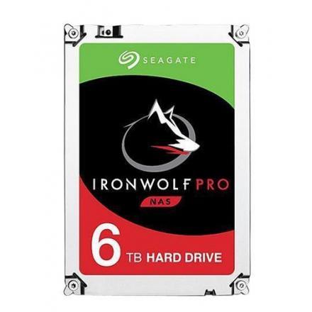 HD 3.5  6TB SATA 3 SEAGATE 256MB IRONWOLF PRO 3.5  / CACHE - Imagen 1