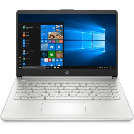 PORTATIL HP 14S-DQ1018NS PLATA I7-1065G7/8GB/SSD 256GB/14 - Imagen 1