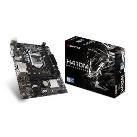 Pb Biostar H410mh S1200 Intel H410 2xddr4 Glan Matx M.2 Hdmi - Imagen 1