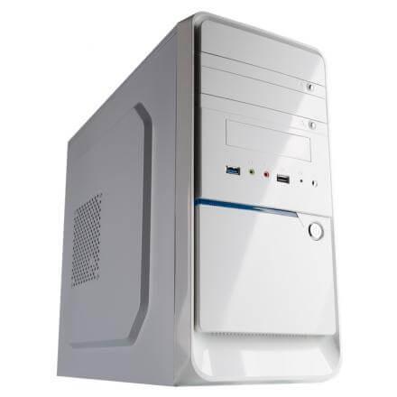 CAJA MICROATX HIDITEC Q3 WHITE SIN FUENTE DE ALIMENTACION 416mm x 365mm x 172mm - Imagen 1