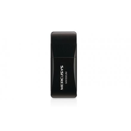 WIRELESS LAN USB 300M MERCUSYS MINI MW300UM - Imagen 1