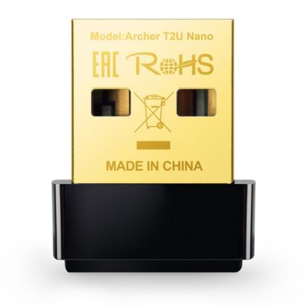 WIRELESS LAN USB TP-LINK AC600 ARCHER T2U NANO - Imagen 1