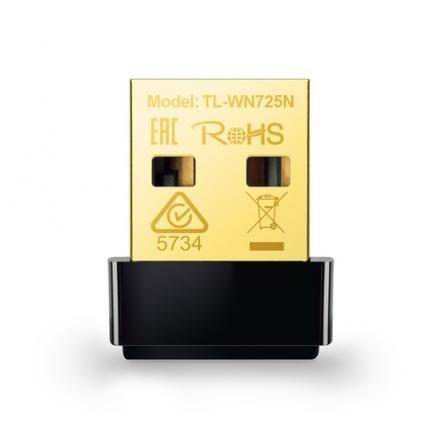 Tp Link Usb Tl-wn725n Wifi N Nano 150mbps (60) - Imagen 1