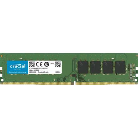 Memoria Crucial Ddr4 8gb Pc2666 C19 1x8gb, Crucial, Single Rank - Imagen 1