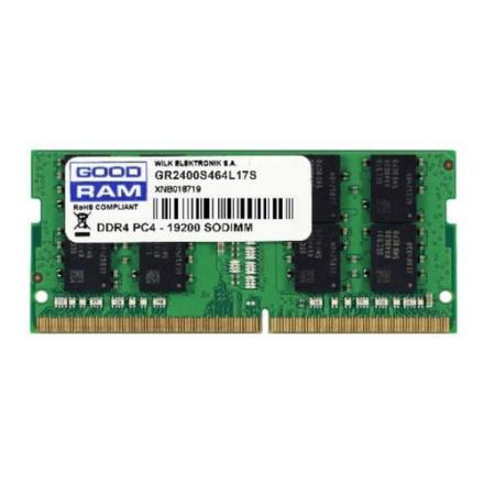 MODULO MEMORIA RAM S/O DDR4 8GB PC2400 GOODRAM RETAIL - Imagen 1