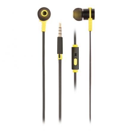 AURICULARES MICRO NGS CROSS RALLY NEGRO - Imagen 1