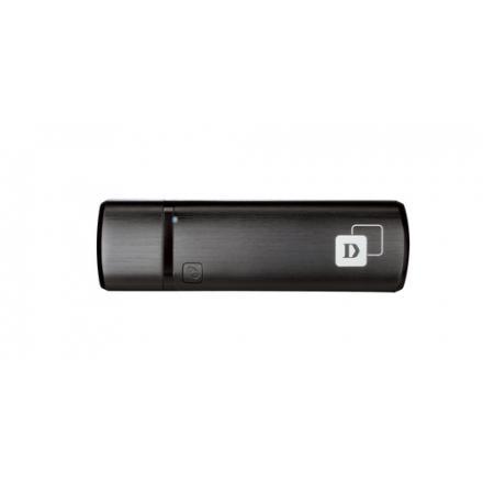 D-link Usb Wifi Dualband Dwa-182 Ac1200 300mb En 2,4ghz Y 867mb En 5ghz - Imagen 1