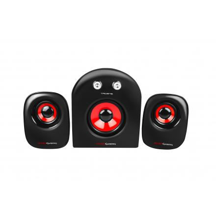 MARS GAMING ALTAVOCES MS2 2.1CHANNELS 20W NEGRO - Imagen 1