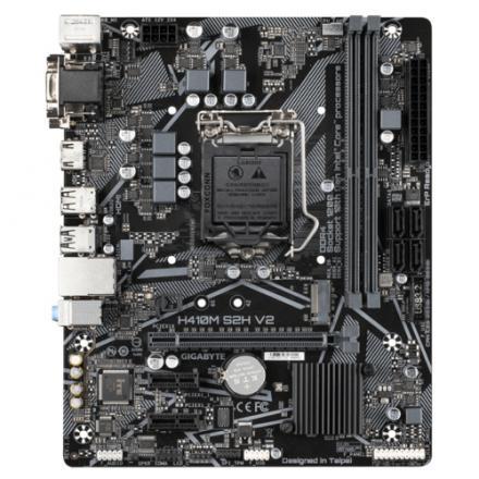 Pb Gigabyte Lga1200 H410m S2h V2 Ddr4 4xsata 1xm.2 Micro Atx Mb - Imagen 1