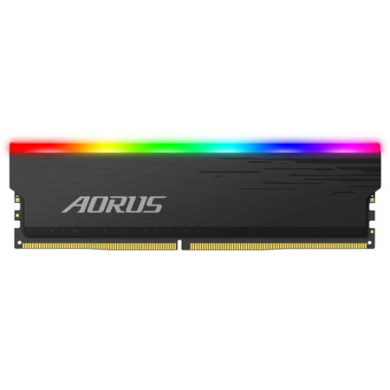 MODULO MEMORIA RAM DDR4 16GB 2X8GB 3733MHz GIGABYTE AORUS R - Imagen 1
