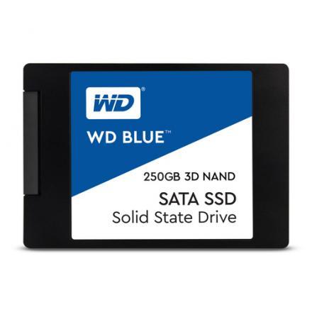 Ssd Western Digital 250gb Sata3 Blue 3d Nand Wds250g2b0a 7mm Wds250g2b0a - Imagen 1
