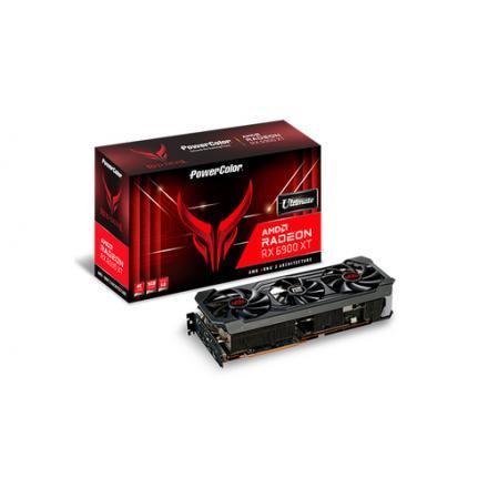 TARJETA GRÁFICA POWERCOLOR RX 6900XT OC RED DEVIL 16GB GDD - Imagen 1