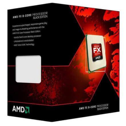 CPU AMD X8 FX-8350 AM3+ BOX 4.00 GHZ - Imagen 1