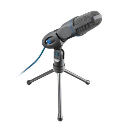 Microfono Trust Mico Con Tripode Conexiones Jack 3.5mm  Y Usb Cable 1.8m  23790 - Imagen 1
