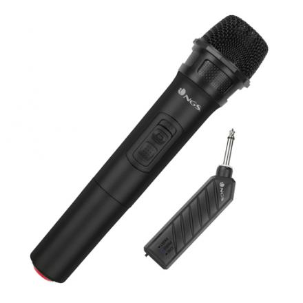 MICROFONO WIRELESS DINAMICO VOCAL NGS SINGER AIR - Imagen 1
