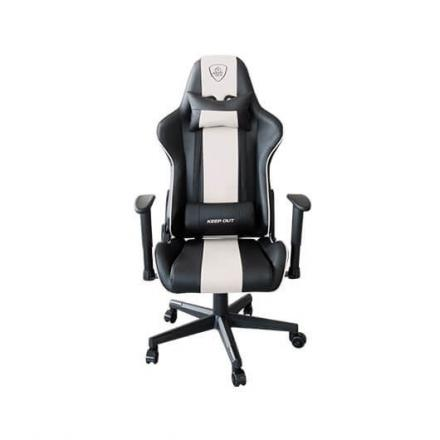 SILLA GAMING KEEP OUT RACING PRO WHITE - Imagen 1