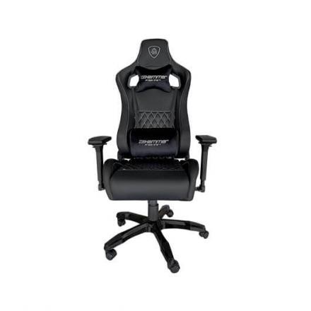 SILLA GAMING KEEP OUT HAMMER BLACK SILVER - Imagen 1