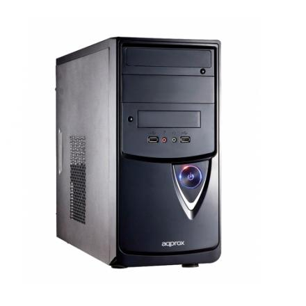 APPROX CAJA PC MICROATX BELL APPGXM007 MICRO-ATX BHIAS 2x5.25 + 1x3.5 VENTILADOR 8CM TRASERO CHASIS 0.5 - Imagen 1