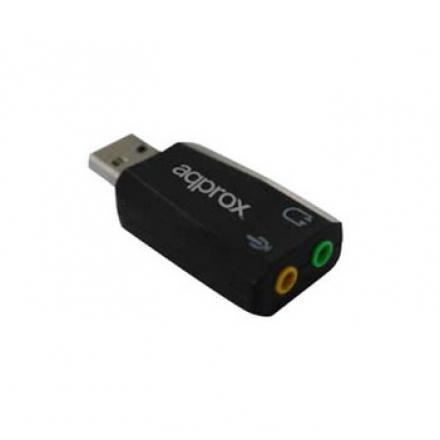 TARJETA DE SONIDO APPROX USB 5.1 APPUSB51SF - Imagen 1