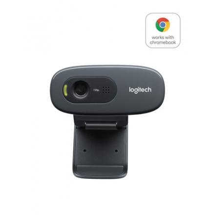 WEBCAM LOGITECH C270-HD 3MPIX NEGRA USB2.0 WER - Imagen 1