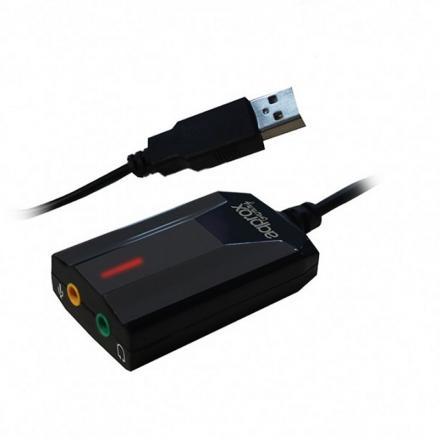 TARJETA DE SONIDO USB APPROX GAMING SONIDO 7.1 COMPATIBLE CON PS4 - Imagen 1