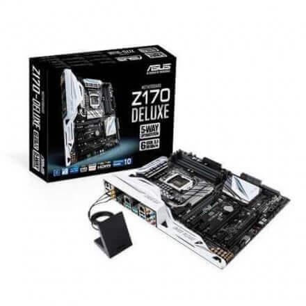 PB ASUS 1151 Z170-DELUXE ATX 4DDR4/64/5USB3/5USB 3.1/HDMI/6S - Imagen 1