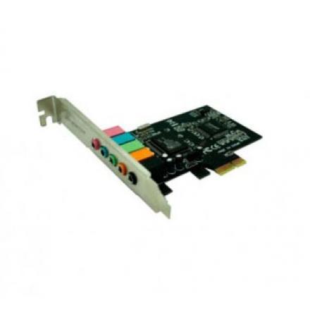 TARJETA DE SONIDO APPROX PCI EXPRESS 5.1 APPPCIE51 - Imagen 1
