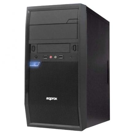 APPROX CAJA PC MICROATX EDISON APPGXM016 MICRO-ATX BHIAS 2x5.25 + 1x3.5 VENTILADOR 8CM TRASERO CHASIS 0 - Imagen 1